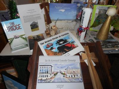 Books available in our Galleria Gift Shop